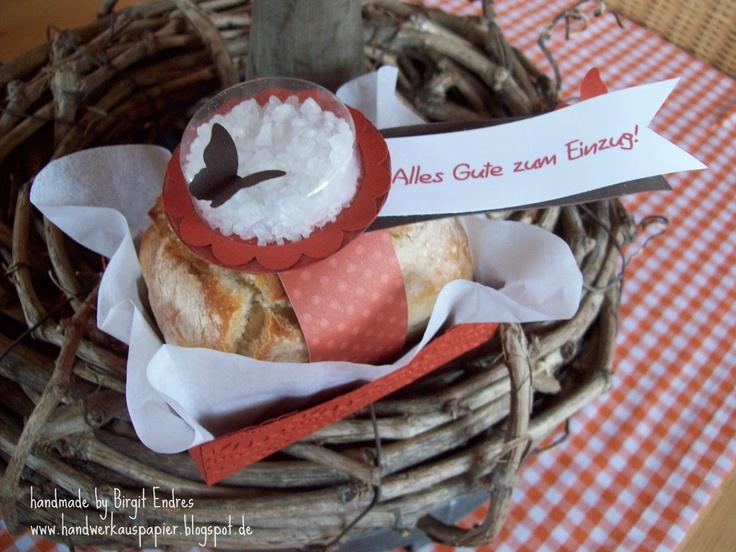 Geschenkidee – Brot und Salz