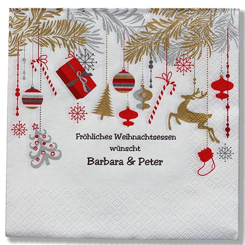 serviette weihnacht