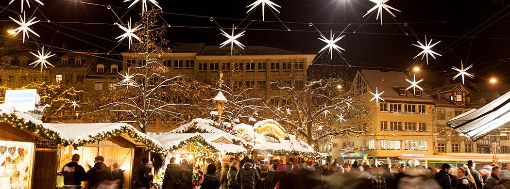 Weihnachtsmarkt St. Gallen Ostschweiz – Region Bodensee