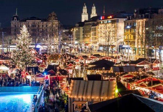 Weihnachtsmarkt Zürich.Wienachtsdorf Auf Dem Zürcher Bellevue Geschenkidee